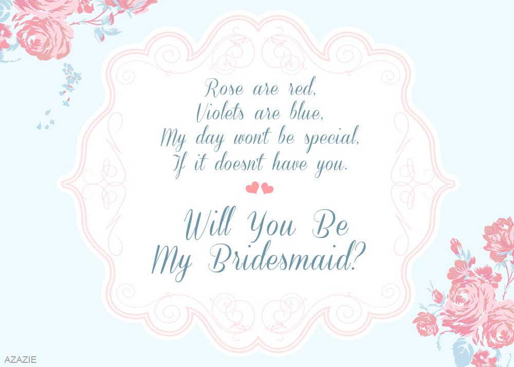 DIY: Will You Be My Bridesmaid? | AZAZIE Blogs: blog.azazie.com/2014/08/26/diy-will-you-be-my-bridesmaid