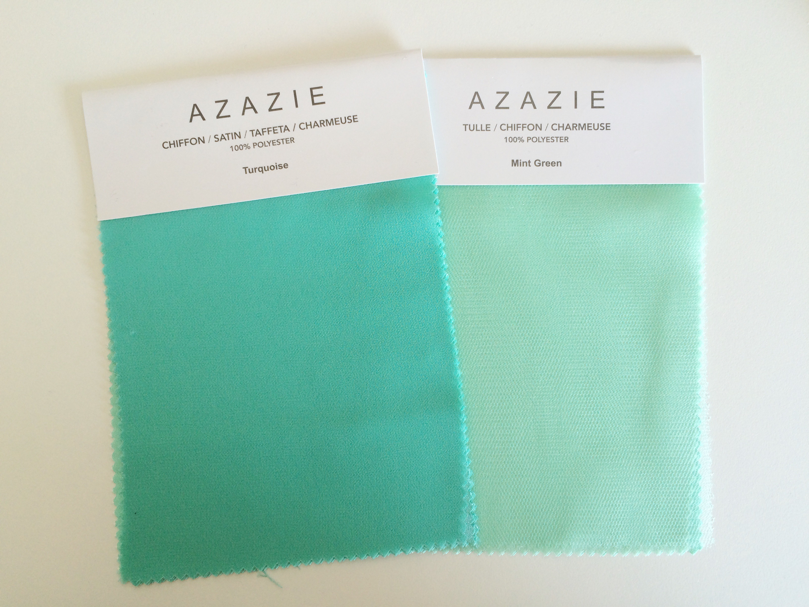 Turquoise and Mint