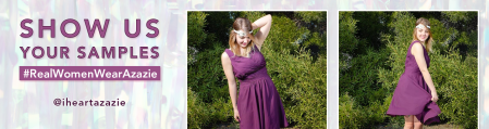 Azazie Sample Dress Selfie Giveaway
